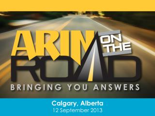 Calgary, Alberta 12 September 2013