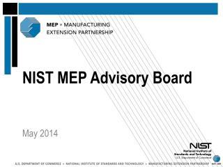 NIST MEP Advisory Board