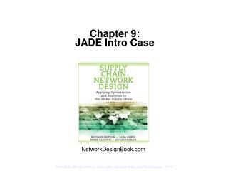 Chapter 9:   JADE Intro Case