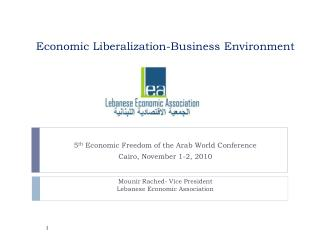 Economic Liberalization-Business Environment