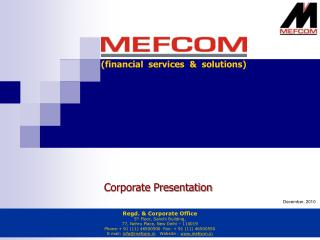 (financial  services  &  solutions)
