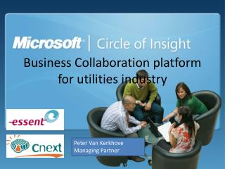 Business Collaboration platform for utilities industry