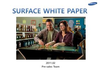 2011.02 Pre-sales Team