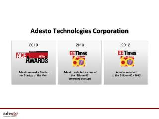 Adesto Technologies Corporation