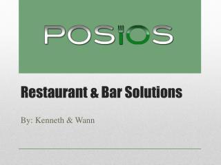Restaurant & Bar Solutions