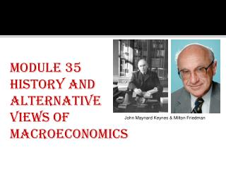 Module 35 History and Alternative Views of Macroeconomics