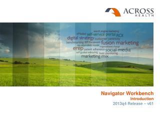 Navigator Workbench Introduction 2013q4 Release – v61