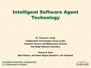intelligent software agent technology
