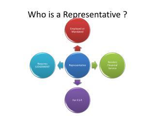 Who is a Representative ?