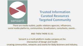 Trusted Information Curated Resources Targeted Community