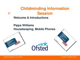Childminding Information Session