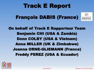 Track E Report