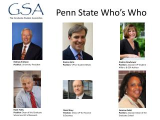Penn State Who's Who