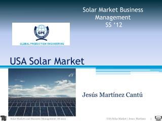 USA Solar Market