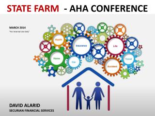 "STATE FARM  -  AHA CONFERENCE  	MARCH 2014 ""For Internal Use Only"""