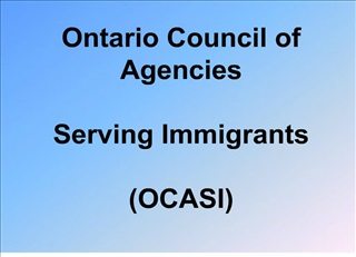 ontario council of agencies   serving immigrants  ocasi