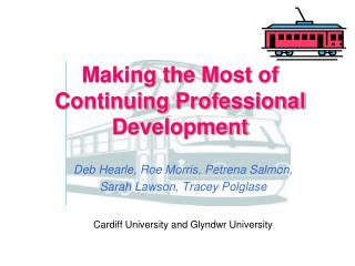 Making the Most of Continuing Professional Development