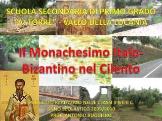 Monachesimo Italo Bizantino