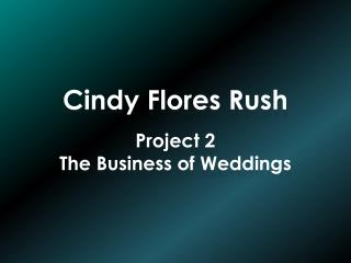 Cindy Flores Rush