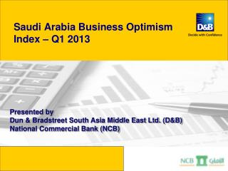 Saudi Arabia Business Optimism  Index – Q1 2013