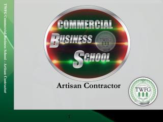Artisan Contractor