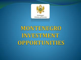 MONTENEGRO INVESTMENT  OPPORTUNITIES