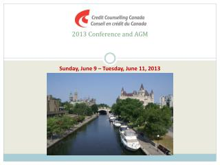 2013 Conference and AGM