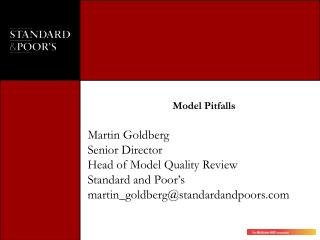 Model Pitfalls