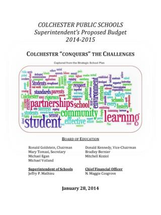 """Colchester """"conquers"""" the challenges 2014-2015"""