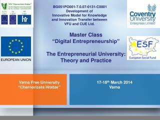 17-18 th  March 2014 Varna