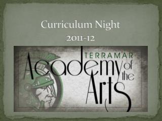 Curriculum Night 2011-12