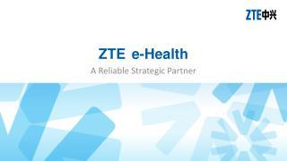 ZTE e-Health