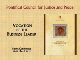 Pontifical Council for Justice and Peace