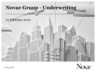 Novae Group - Underwriting