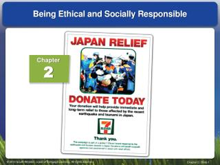 Being Ethical and Socially Responsible