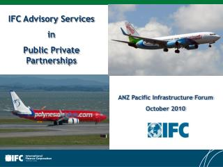 ANZ Pacific  Infrastructure Forum October 2010