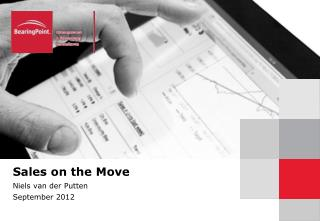 Sales on the Move  Niels van der  Putten September 2012