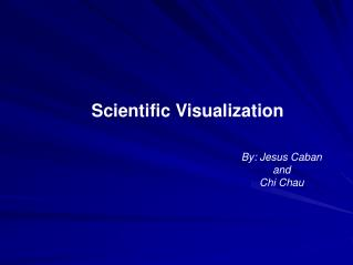 what is scientific visualization