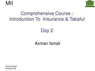 Azman Ismail www.iifin.net