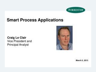 Smart Process Applications