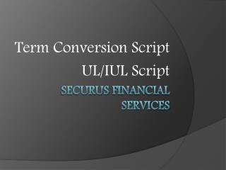 Securus  Financial Services