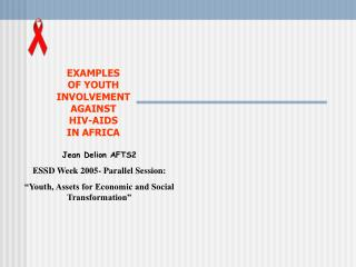 youth organizations ask support to the bank to build their capacities against hiv-aids