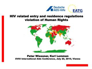 HIV related entry and residence regulations  violation of Human Rights