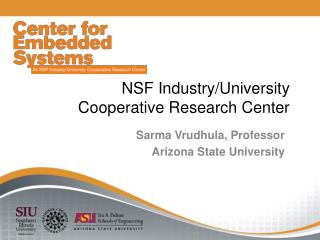 NSF Industry/University Cooperative Research Center
