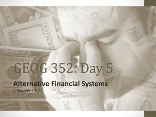 GEOG 352: Day 5