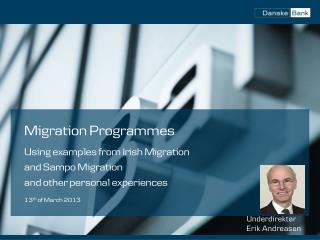 Migration Programmes