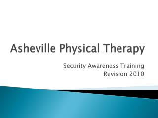 Asheville Physical Therapy