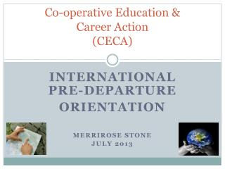 Co-operative Education &  Career Action (CECA)
