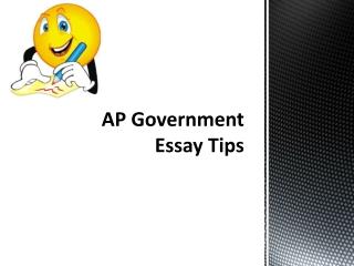 essay patterns:  explaining a process