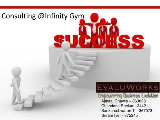 Consulting @ Infinity  Gym